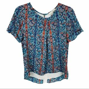 June & Hudson Nordstrom Small Short Sleeve Top